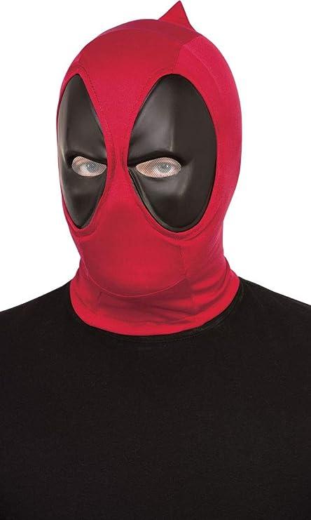 Deluxe Adult Unisex Latex Mask Marvel Comic Deadpool Mask Fancy Cosplay Costume