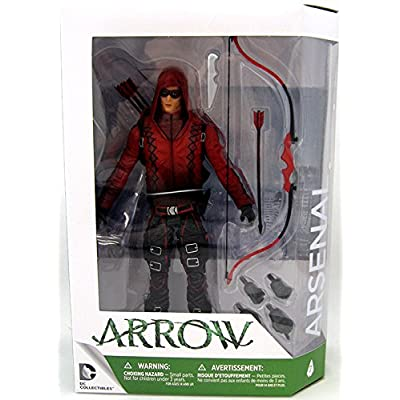 DC Collectibles Arrow (TV Show): Arsenal Action Figure: Toy: Toys & Games
