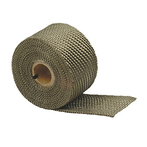 Design Engineering 010132 Titanium Exhaust Heat Wrap with LR Technology, 2