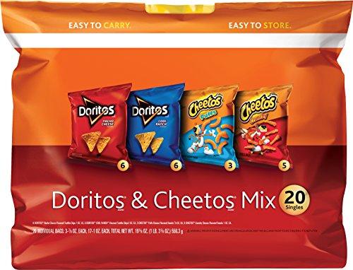 Frito-Lay Doritos and Cheetos Multipack, 20 Count