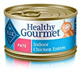 Blue Healthy Gourmet Adult Pate Indoor Chicken Wet Cat Food 3-Oz (Pack Of 24)