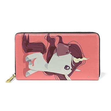 Amazon.com: Blue Viper Magical Unicorn - Cartera larga de ...