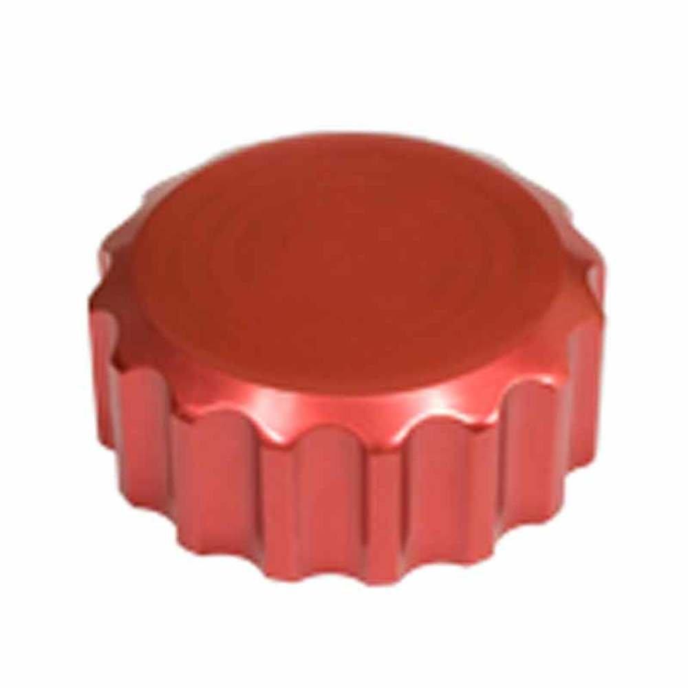 Empi Billet Red Oil Filler Cap W//Grooves Vw Beetle 18-1079 Bug