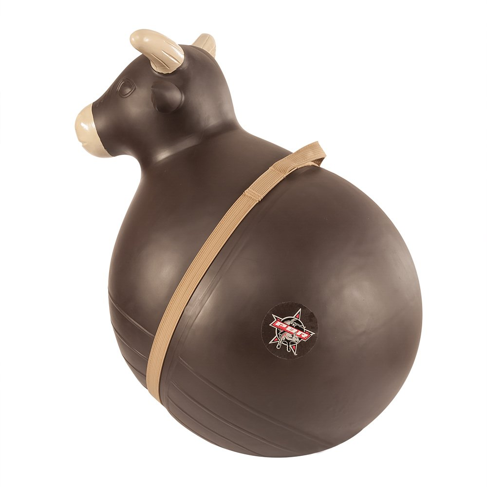 Big Country Toys PBR Bouncy Bull - Kids Hopper Toys - Inflatable Riding Ball with Handle - Bucking Bull Hopper Toy by Big Country Toys