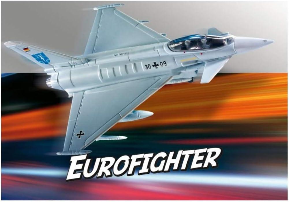 Revell GmbH Revell 06452 6452 Eurofighter - Kit de Modelos de plástico, Multicolor, 1/100: Amazon.es: Juguetes y juegos