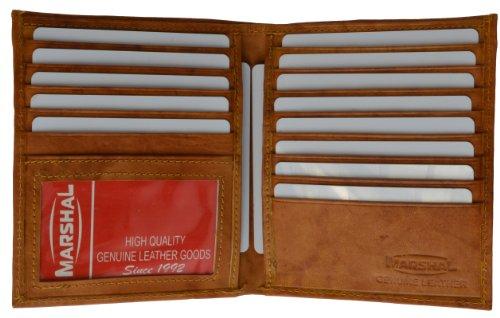 Marshal Wallet Genuine Leather Men