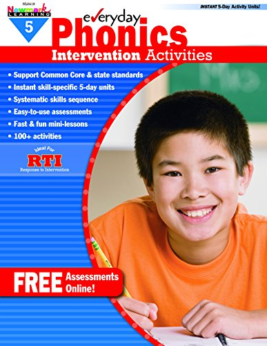 - Everyday Intervention Activities for Phonics Grade 5 (Eia)