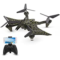Goolsky H6D2 Pterosaur RC Quadcopter with 2.0MP Camera,Wifi FPV,G-Sensor,Altitude Hold and One Key Return