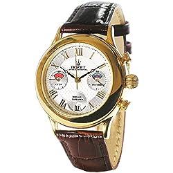 Poljot int. Cronógrafo gorbatchov Reloj de hombre 3133mecánico Russian Watch