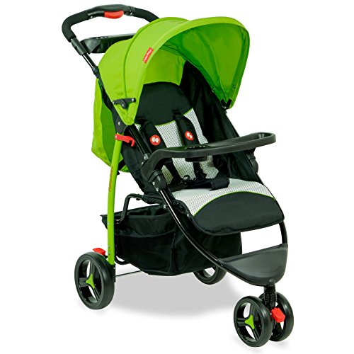 Fisher-Price-Rover-Stroller-Cum-Pram-Green