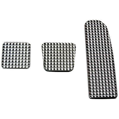 RealWheels RW235-1-FL Diamond Billet Pedals (Set of 3): Automotive [5Bkhe0402814]