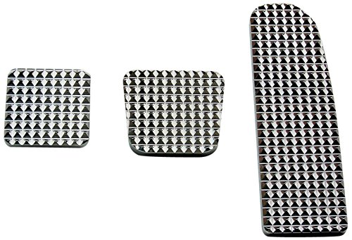 RealWheels RW235-1-FL Diamond Billet Pedals (Set of 3) by Real Wheels