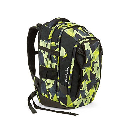 Satch Match Gravity Jungle Schulrucksack Set 5tlg.