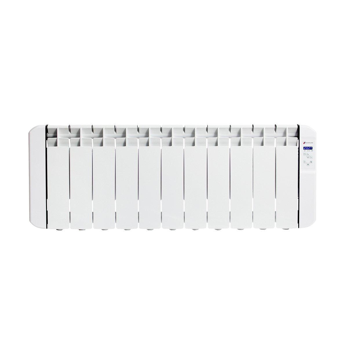 HAVERLAND RC11BL Emisor Térmico De Fluido Bajo Consumo, 1250W de Potencia, 11 Elementos, Programable, Ideal Espacios Reducidos, 1250 W, Blanco: Amazon.es: ...