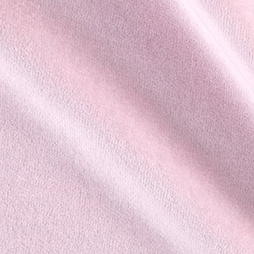 Cotton Velour Fabric - Mike Cannety Textiles Solid Velour Pink Fabric by The Yard
