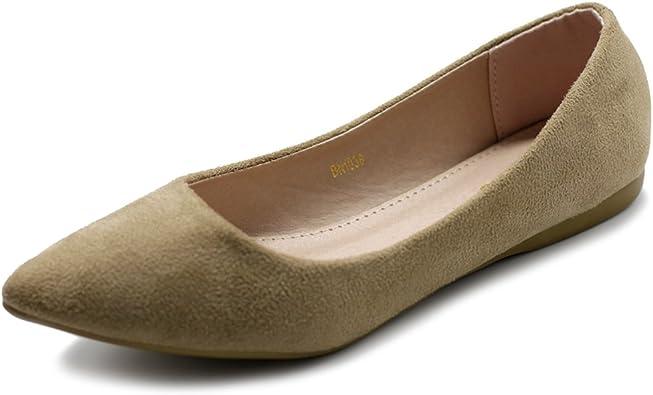 Ollio Women/'s Ballet Shoe Cute Casual Comfort Flat