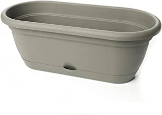 product image for Lucca Oval Window Box Color: Peppercorn