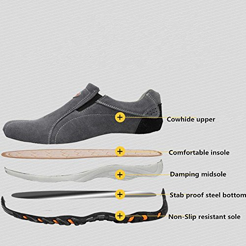 Pictures of Eclimb Women's Safety Work Shoes Steel- NQNV01* 7