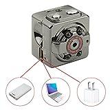 Onlylife Hidden Camera Spy Camera Mini Camera, econoLED Wide Angle 1080P Full HD H.264 12.0MP CMOS Dash Cam DVR w/Motion Wireless Aluminum Video DV Camera