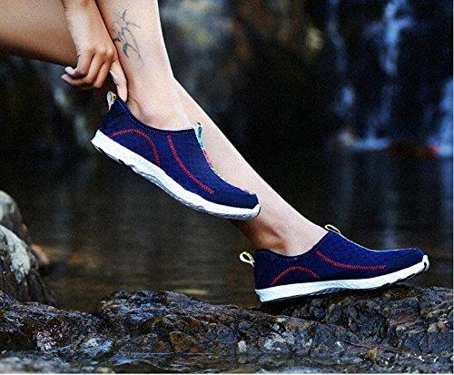 Mujeres NGRDX Malla Mujeres Dark Casual Calzado Blue Mujer Zapatos De Solaz Zapatos De De Transpirable amp;G De AqvwRA