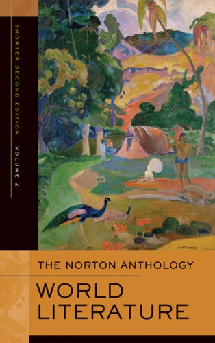 The Norton Anthology of World Literature: 2 (Shorter Second Edition)