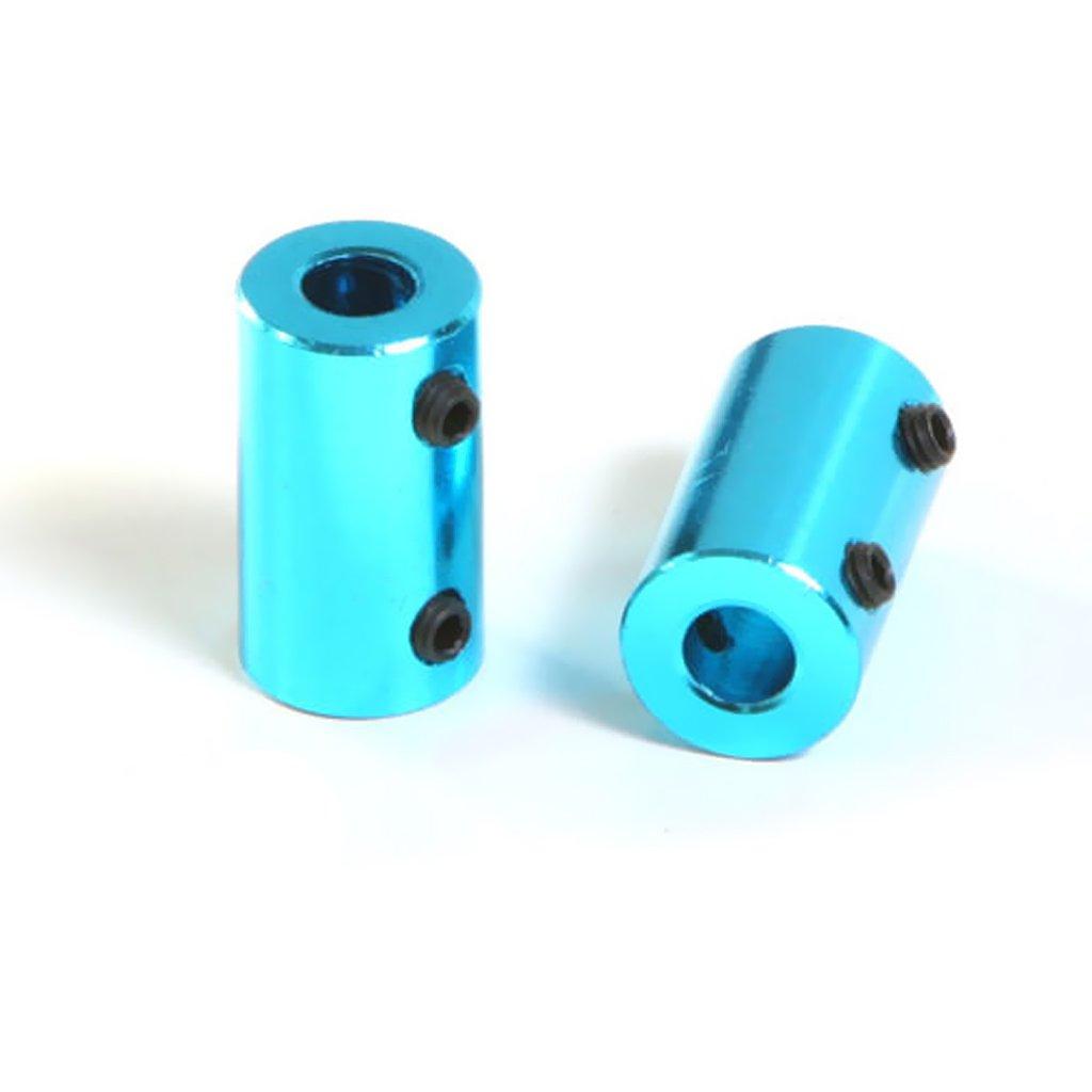 8mm 6-6mm FLAMEER Aleaci/ón De Aluminio Acoplamiento Flexible Elasticidad Acoplamiento Del Motor Acoplador 2//3//5