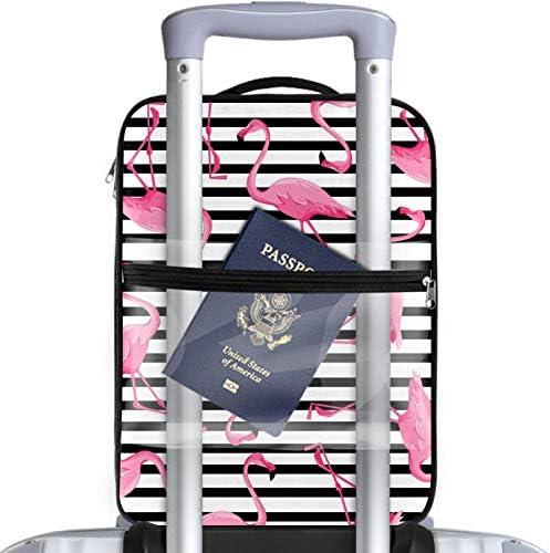 MYSTAGE シューズバッグ 靴箱 シューズケース シューズ袋 旅行収納ポーチ 二層式 靴入れ 小物収納 収納ケース アウドドア 出張 旅行 熱帯 フラミンゴ