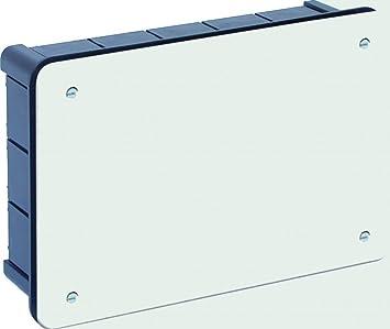 Solera 363 - Caja 160x100x50 tapa blanco con tornillos: Amazon.es ...