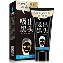 ONE SPRING Hyaluronic Acid Black Mask- Deep Cleansing, Purifying BlackHead Pore Remover Tearing, Peeling-Off Nose & Face Black Mask (60g)
