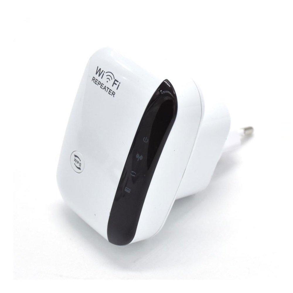 WWAVE sans Fil AP Repeater 300M amplificateur de Signal WiFi ré pé teur ré seau (UK/EU Plug)