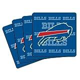 NFL Buffalo Bills Neoprene Coaster, 4-Pack
