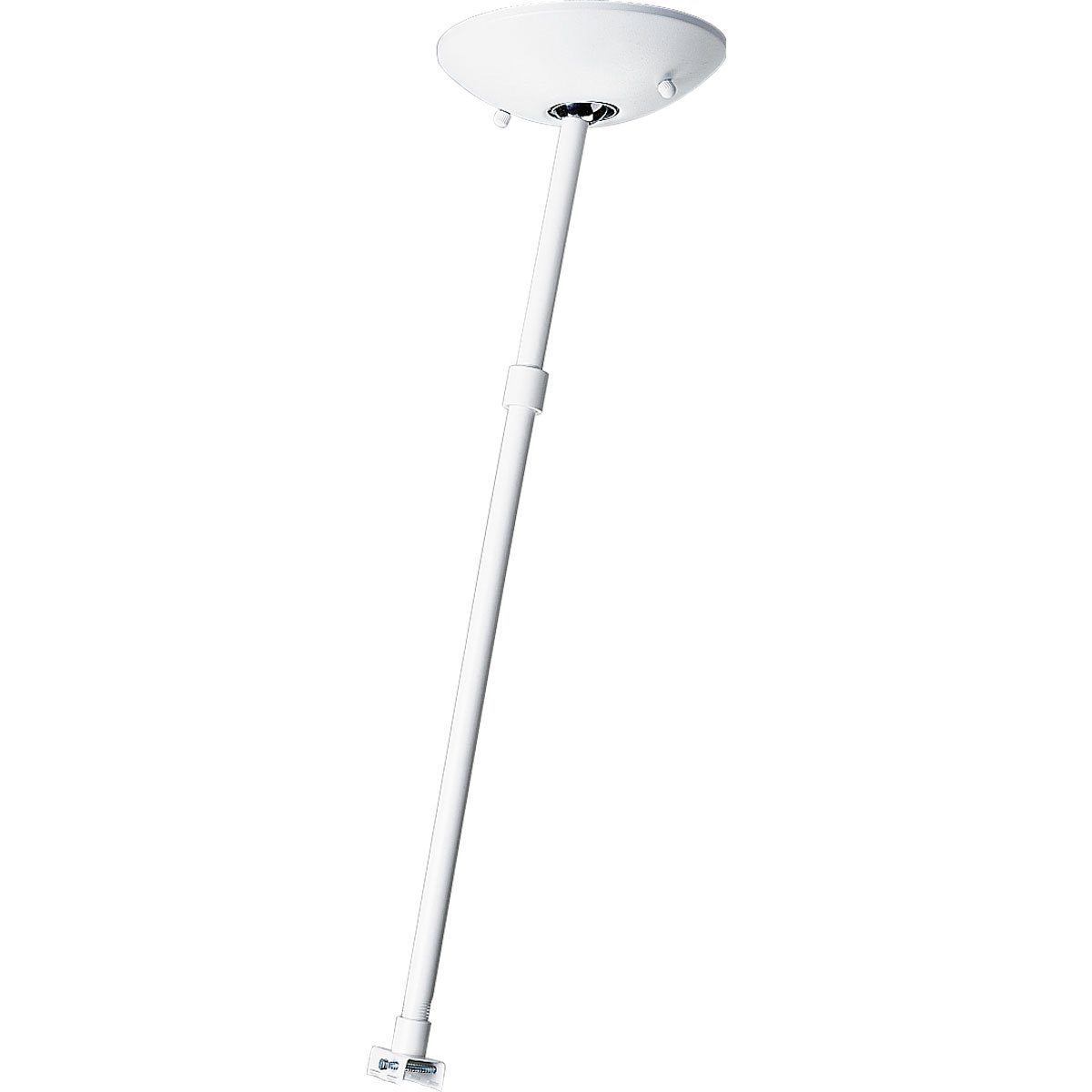 Progress Lighting P8715-28 Pendant Kit Less Power Feed Includes Outlet Box Cover Includes 6-Inch and 12-Inch Stem Lengths, and All Necessary Mounting Hardware, Bright White