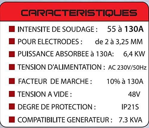 Mecafer 460113 PS130 Soldador