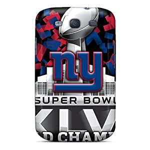 Durable Hard Phone Case For Samsung Galaxy S3 (WRi1663JVJj) Unique Design High Resolution New York Giants Series WANGJING JINDA