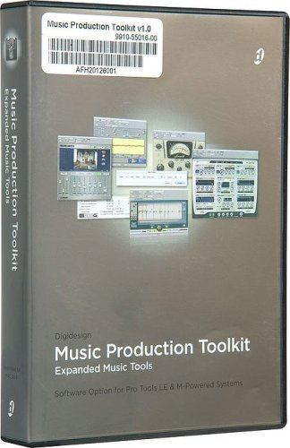 Digidesign Music Production Toolkit Software Option for Pro Tools LE and (Convolution Reverb Plug)