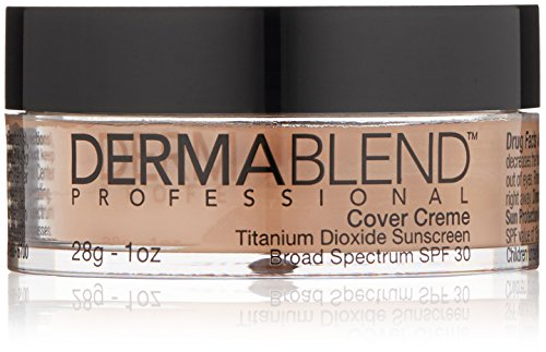 Dermablend Cover Creme - Chroma 1 - Rose Beige, 1 oz - Dermablend Cover Creme Rose Beige