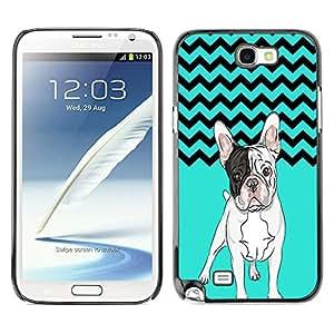 - Ocean Seas - - Monedero pared Design Premium cuero del tir¨®n magn¨¦tico delgado del caso de la cubierta pata de ca FOR Samsung Galaxy N7100 N7102 N7108 Funny House