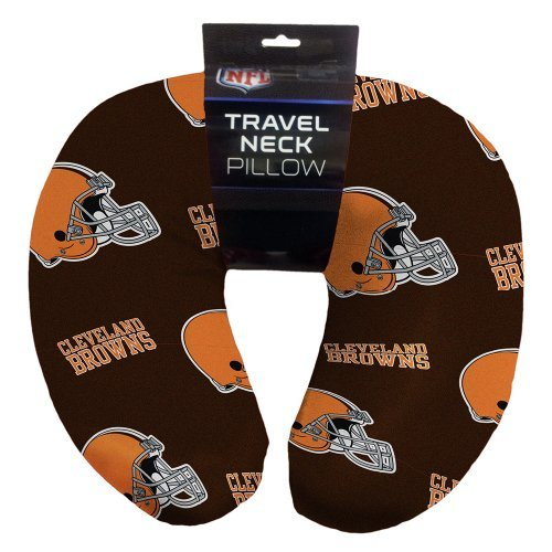 Northwest NFL 117 Cleveland Browns Beaded Neck Pillow