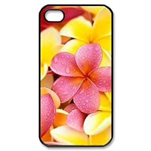 Red Hawaii Flower Brand New Cover Case for Iphone 4,4S,diy case cover ygtg606674