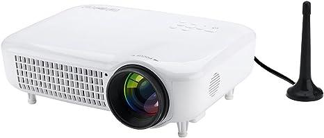 Eg Beaver HD Proyector LED con 3000 lumens Home Cine de gran ...