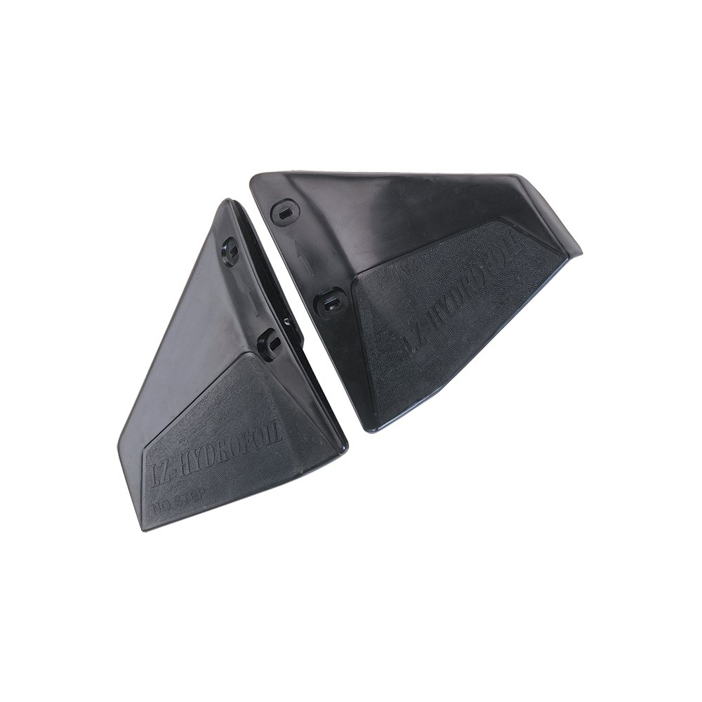 NuovaRade Lalizas LZ Hydrofoil for Outboards, Fits Engines More Than 50HP, Black