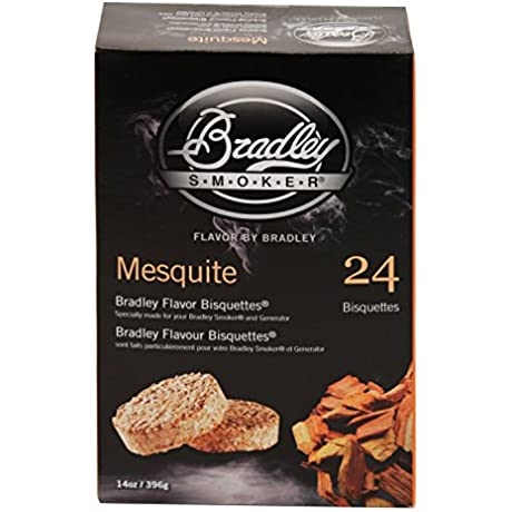 Bradley Smokers BTMQ24 Mesquite Flavored Banquettes Smokers 24 Pack