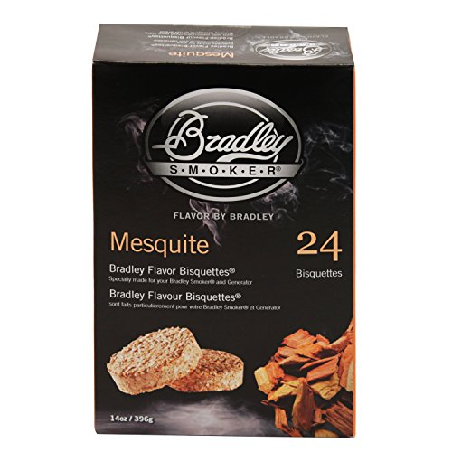 Bradley Smokers BTMQ24 Mesquite Flavored Banquettes Smokers, 24-Pack ()