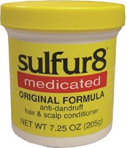 - Sulfur8 Medicated Anti-Dandruff Hair and Scalp Conditioner Original Formula, 7.25 oz by Sulfur 8