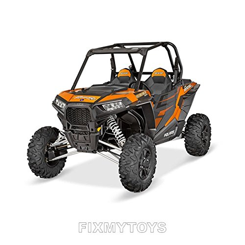Genuine Pure Polaris RZR XP 1000 Aluminum Door Graphics Orange Titanium pt# 2880499
