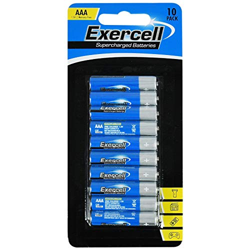 ASAB Pack of 11 Powercell AAA Alkaline 1.5V Batteries Single-Use Toys Remote Control Alarm Clocks Radio Battery