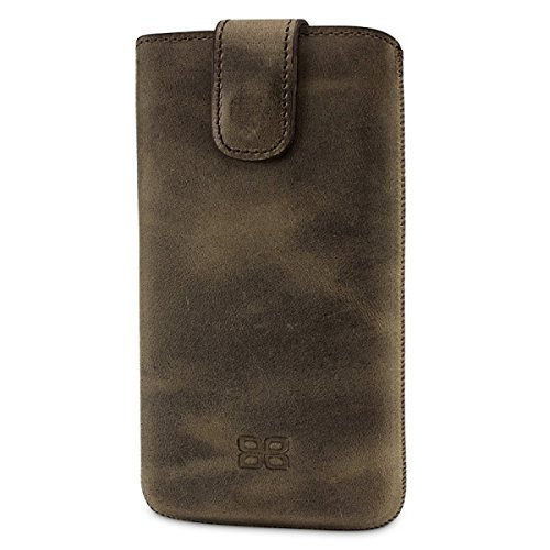 Bouletta Leather Phone Case for HTC One M8 [MultiCase Antic Coffee]