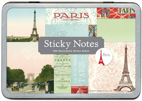 - Cavallini & Co. Paris Sticky Notes