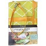 UkiyO Baby Portable Diaper Changing Mat (With Diaper/Wipe Holder) (Green)