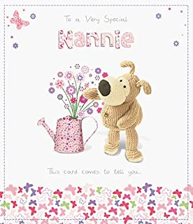 Papyrus greeting card amazon office products boofle special nannie mothers day card cute range greeting cards m4hsunfo